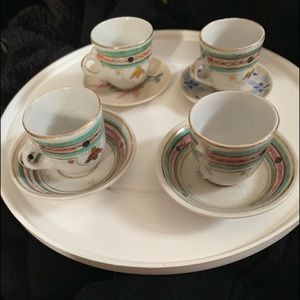 Early 1900's tea set.  14 pieces, amazing!